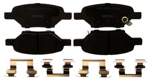 Disc Brake Pad Set-Ceramic Disc Brake Pad Rear ACDelco Advantage 14D1033CHF1