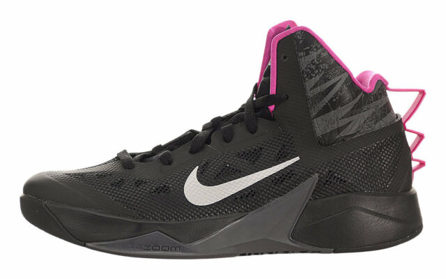 promo code 871ff 274d1 Nike Zoom Hyperfuse Shoes (13) Black Metallic Silver Pink