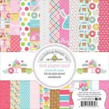 Doodlebug Design Cream and Sugar Collection 6 X 6 Paper Pad 5530 2017