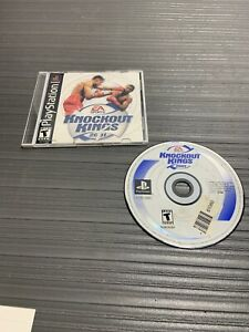 Sony-PlayStation-1-PS1-Video-Game-Knockout-Kings-2001