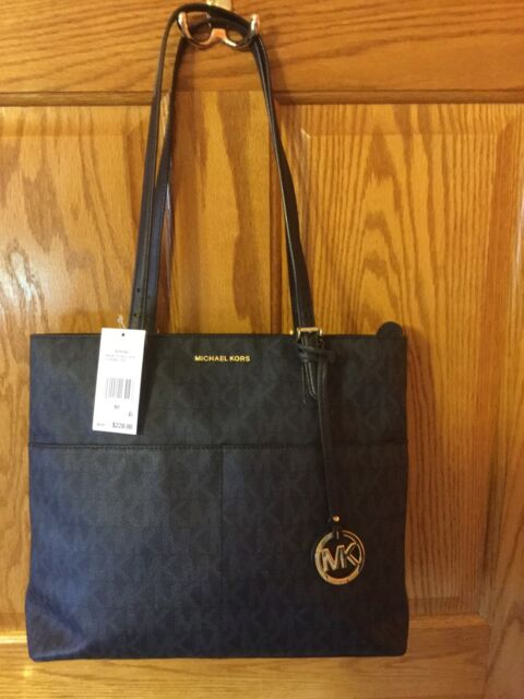 5e3316a7f3 Michael Kors 30S6GBFT7B Bedford Large Pocket Tote - Baltic Blue for ...