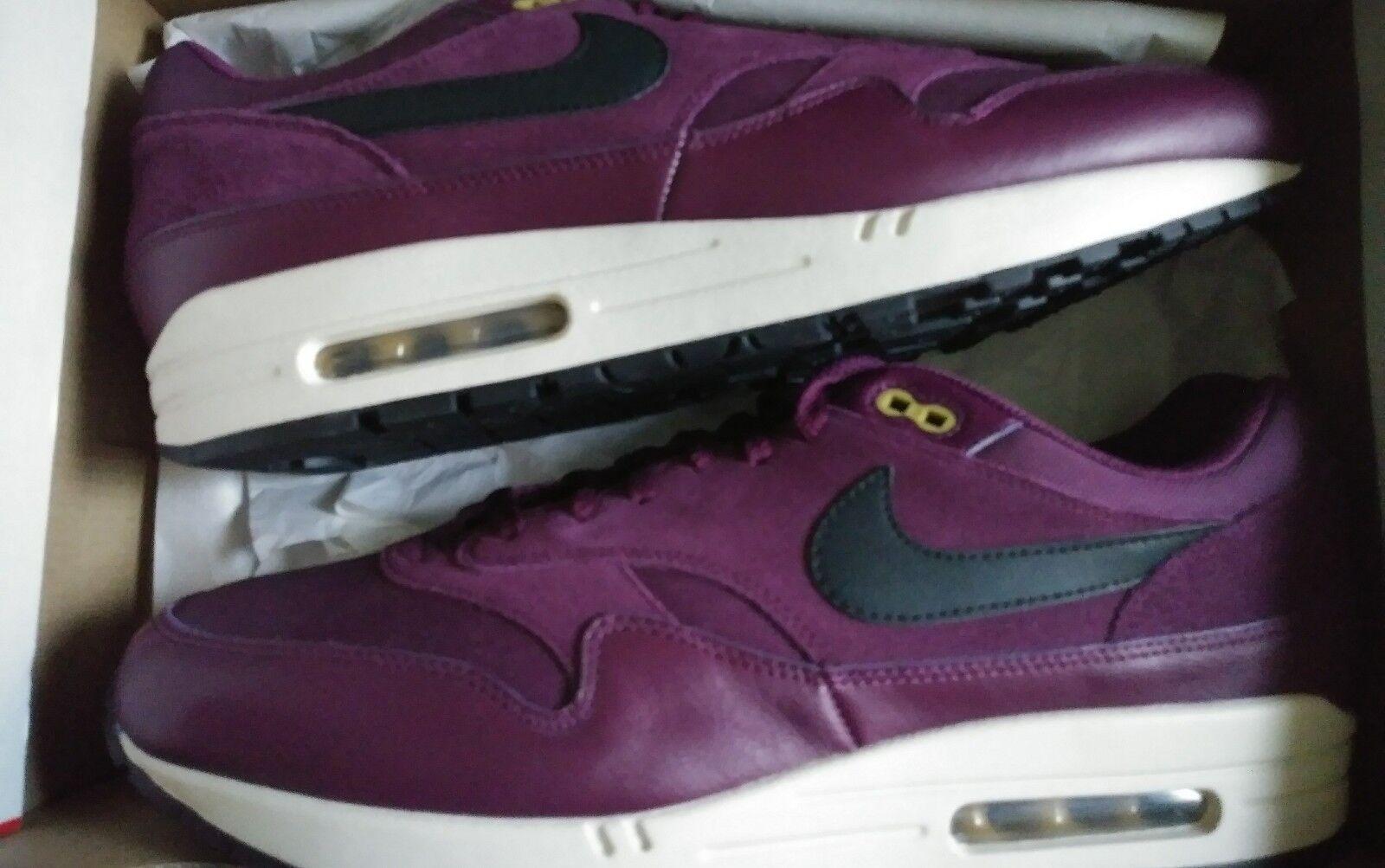 c28e914cd4 Mens nike air max size 13 purple, black swoosh, desert moss NEW NEVER WORN