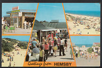 Norfolk Postcard - Greetings From Hemsby   DR596