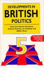 Developments in British Politics: Bk.5 by Palgrave Macmillan (Paperback, 1997)