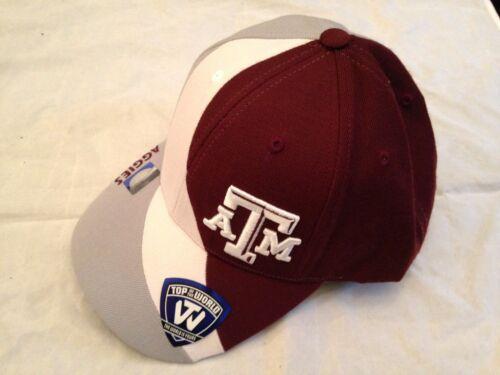 meet 7f6d6 0c255 2 of 3 Texas A M Aggies NEW Adjustable Adult NCAA Slashed Hat . Cap College  Mens Fan