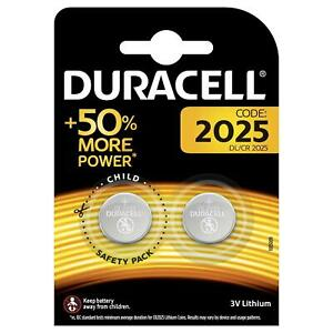 2-x-Duracell-CR2025-3V-Lithium-Coin-Cell-Battery-2025-DL2025-BR2025-for-Keyfob