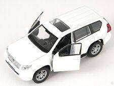Blitz envío Toyota Land Cruiser Prado Weiss Welly modelo auto 1:34 nuevo & OVP