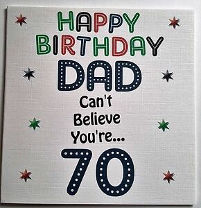 Image Is Loading HANDMADE HAPPY BIRTHDAY CARD DAD GRANDAD BROTHER UNCLE