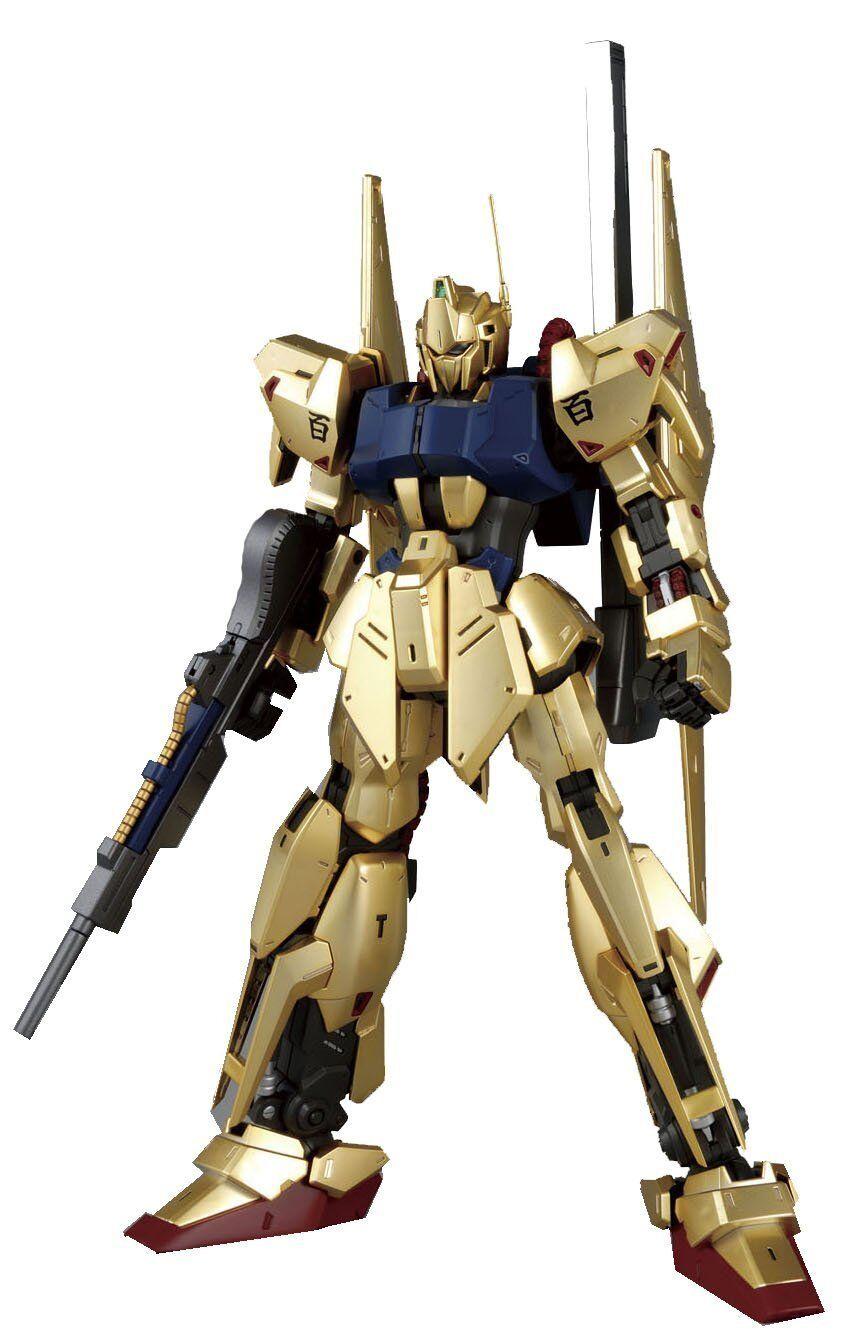 New MG 1 100 MSN-00100 Hyaku Shiki Ver. 2.0 Zeta Gundam Model Kit BANDAI Japan