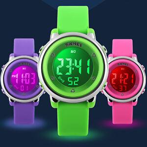 Bright Children Watch Sports Kids Watches Men Women Led Electronic Digital Bracelet Child Watch For Boys Girls Gife Clock Reloj Nino Watches