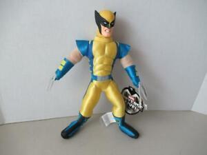 Marvel-univers-Live-Peluche-Wolverine-Vinyle-visage-et-peluche-2001-sur-11-034