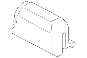 Genuine Ford License Lamp BB5Z-13550-A