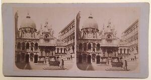 Venezia-Ducale-Italia-Foto-Stereo-Vintage-Albumina