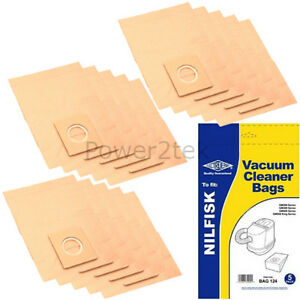 ACTION,BRAVO NILFISK VACUUM BAGS X 10  FOR ALL BUBBLES 2 X FILTERS
