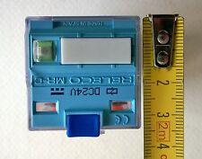 RELECO serie MR-C , RS 345-886 - Relais mit Montagefuß 2x Wechseler – 8-pin rel.
