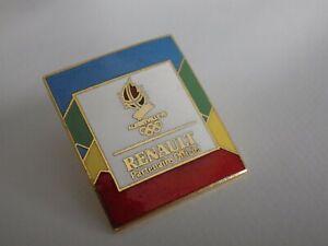 Pin-039-s-vintage-epinglette-Collector-JO-albertville-Renault-Lot-G062