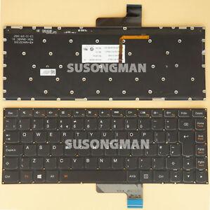 NEW Hungarian BACKLIT Keyboard Lenovo U31-70 E31-70 E31-80 /& Ideapad 500s-13ISK