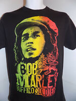 Bob Marley ZionWare Buffalo Soldier T Shirt Size Medium Black