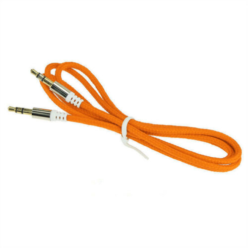 Multi 1M 3.5mm Male to Male Car Aux Auxiliary Cord Stereo Audio Cable for Phone