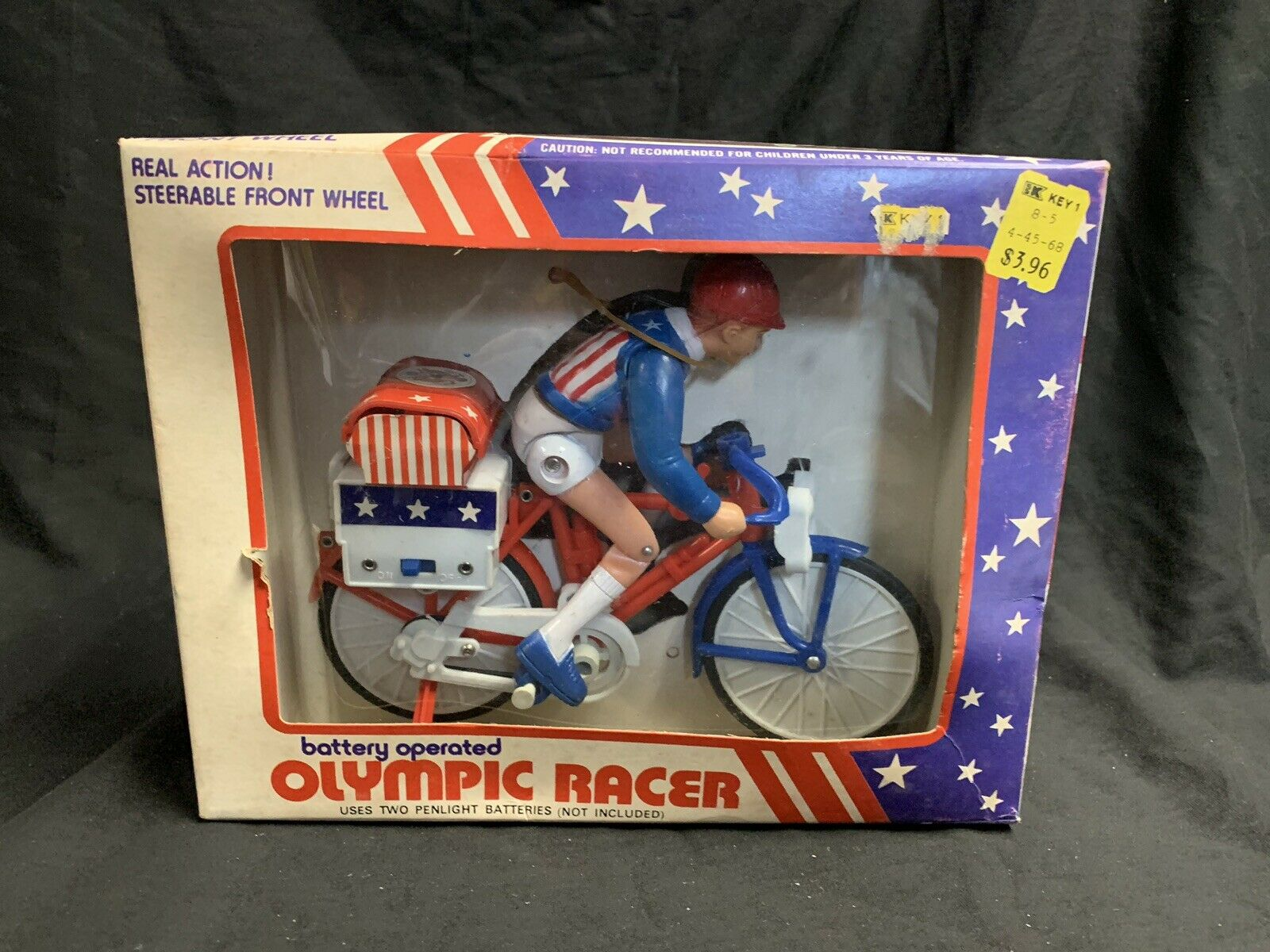 Battery Operated Olympic Racer Vintage Kresge