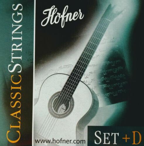 HCS Höfner Classic Konzert-Gitarren-Saiten HCS-Set+D