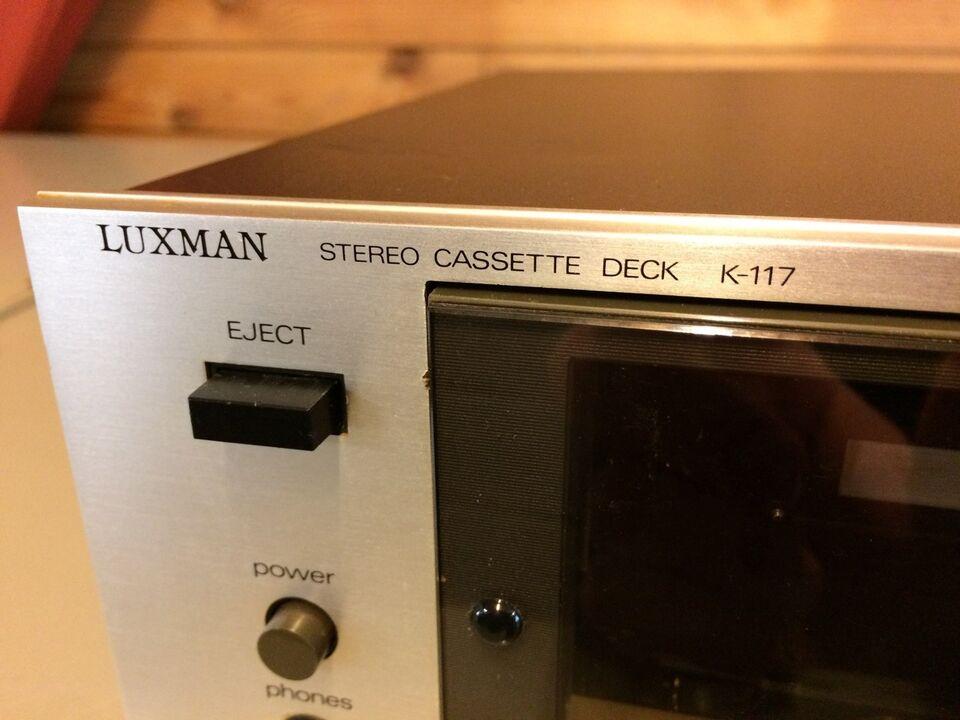 Båndoptager, Luxman, K-117