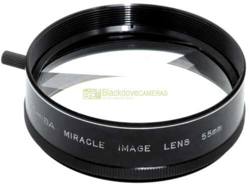 55mm Filtro Miracle Lens multiple images Toshiba 3 spicchi Nuovo!