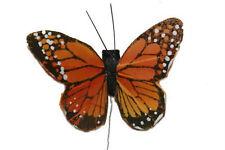 24 Artificial Monarch Butterfly,Fake Craft,Butterflies,Wedding Butterfly,BF1220