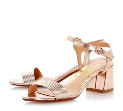 Fantasia Boutique - Sandalias de vestir para mujer beige beige, color beige, talla 5 UK / 38 EU