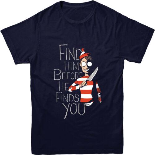 caché dans le t-shirt foncé style top Où est charlie t-shirt