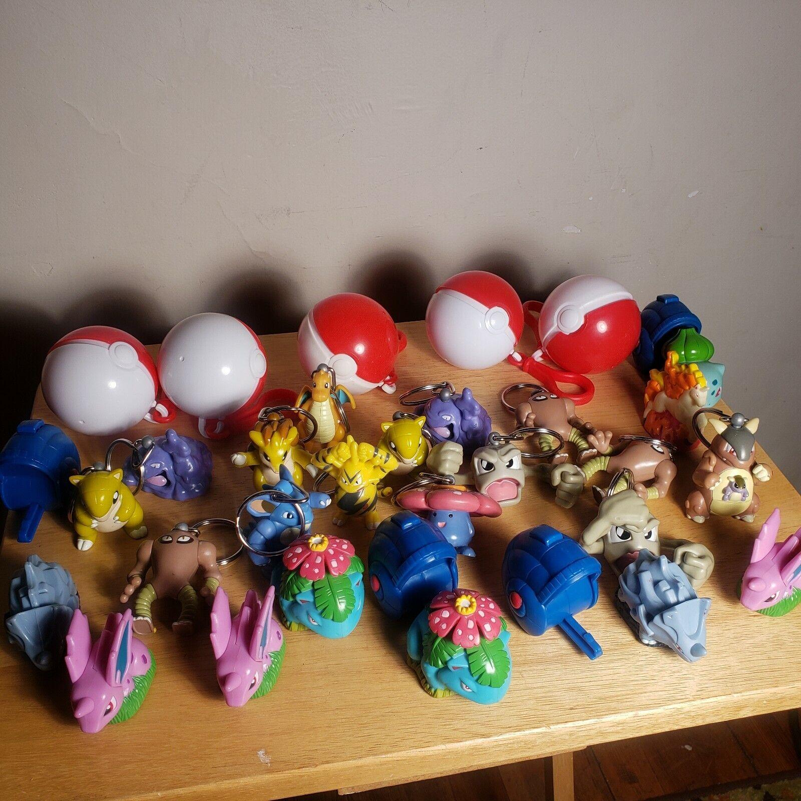 Lote de 24 Juguetes POKEMON BURGER KING Coleccionable