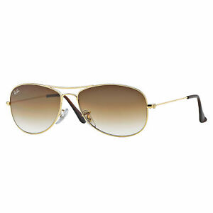 1c8451d304 Ray-Ban RB3362 Cockpit Sunglasses Gold  Light Brown Gradient 56mm ...