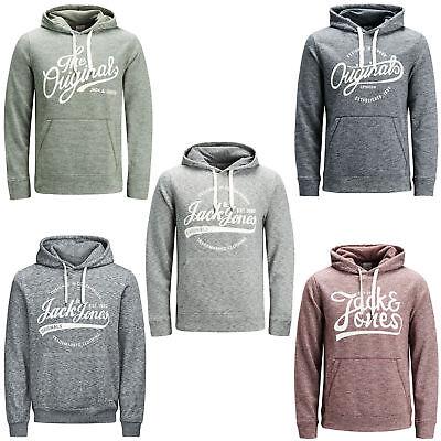 Energisch Jack & Jones Originals Hoodie Casual Sweatshirt Mens Hooded Jumper Jorpanther