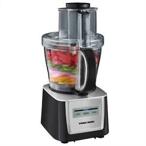 Black and Decker Food Processor 500W 12 Cup FP5050SC