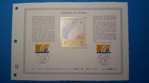 FRANCE DOCUMENT ARTISTIQUE YVERT 2613 HOMMAGE AUX HARKIS MARSEILLE 1989  L574