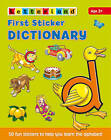 First Sticker Dictionary by Lyn Wendon (Paperback, 2004)
