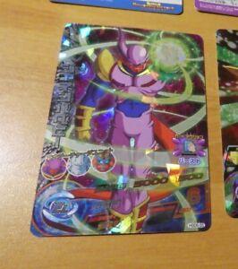 DRAGON BALL Z DBZ DBS HEROES CARD PRISM HOLO CARTE UM1 55 SR DBH SUPER RARE NM
