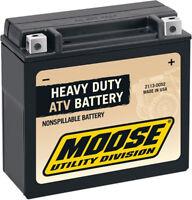 Moose Utility Battery Bombardier Atv Commander 800 1000 Outlander 400 500 650