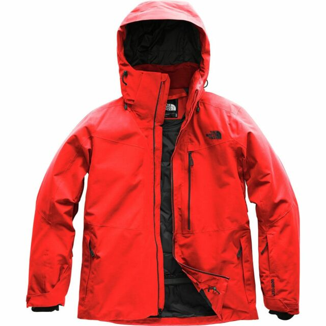 87d1b9afe The North Face Men's Maching Insulated Gore-tex Ski Snowboard Jacket Fiery  Red M