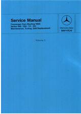 Mercedes Benz W108 W109 W110 W111 300SEL 6.3    Workshop Manuals 2 Vol
