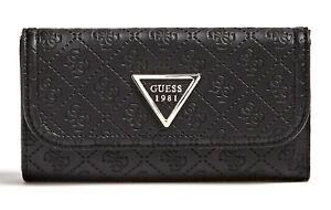 Wallet Delle Triplice Portamonete Tasca Donna Guess Licra NeroBorsa HY2WeED9I