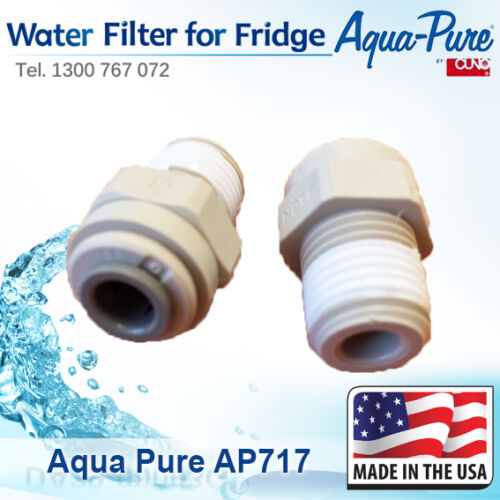 SIDE BY SIDE FRIDGES 4x 3M CUNO AP717 IN-LINE WATER FILTER COFFEE MACHINES