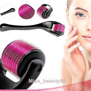 540-Needles-Derma-Micro-Needle-Titanium-Roller-Acne-Scars-Anti-aging-Hair-Loss