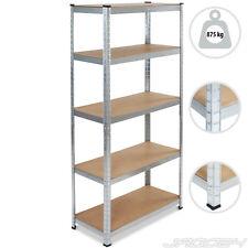 Metal Shelving Heavy Duty 5 Tier Steel Shelf Shed Workshop Storage Unit Racking