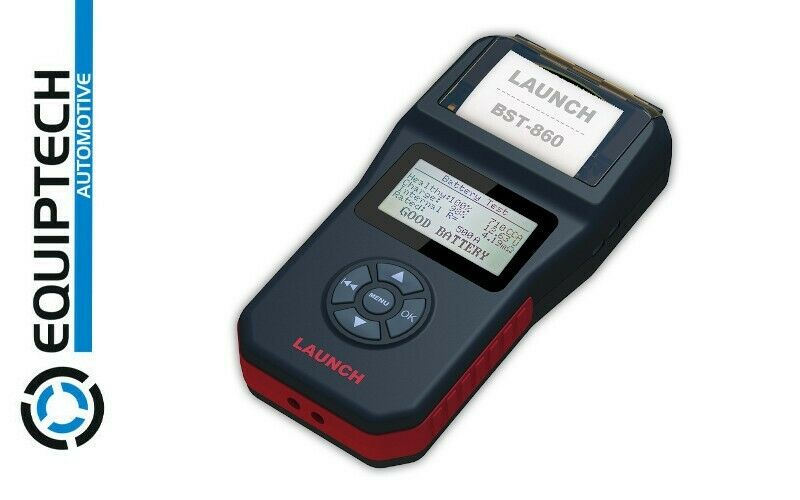 HANDHELD BATTERY TESTER - TESTS MULTIPLE TYPES OF BATTERIES - LAUNCH BST860