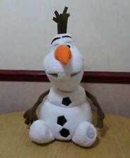 """OLAF~18/""""H~PLUSH~SnOwMaN~DoLL~FROZEN~H45.7cm~NWT~Disney Store~Authentic PATCH"""
