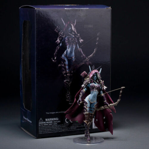 Sylvanas Windrunner Figure Warcraft Word Of Heroes Of The Storm Toy New NO Box
