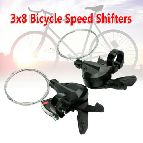 3x8Speed Bicycle Shifters Bicycle Parts for M310 Bike Bicycle Shift//Brake Lever