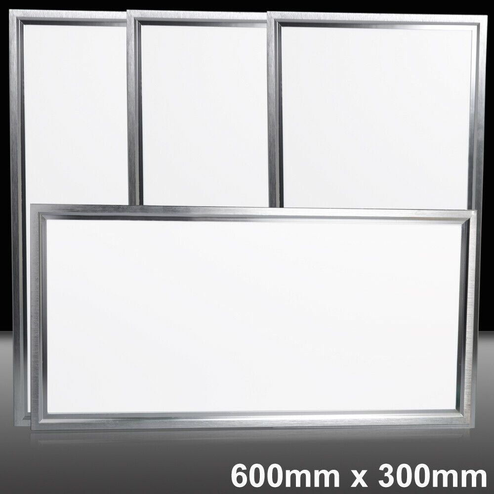 10 5 1x 600 x 300 LED Recessed   Suspended Ceiling Panel Light Cool Weiß Office