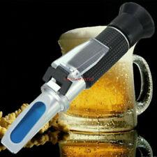 Handheld 0 32 Brix Wort Refractometer Juice Beer Wine Sugar Content Tester Us